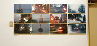 吉増剛造『エッフェル塔(黄昏)』常設上映・画像展示(八戸市美) photo by ICANOF