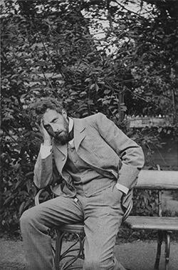 モスクワ芸術座時代(1898~1902年)のメイエルホリド=BSTD/早大演劇博物館提供