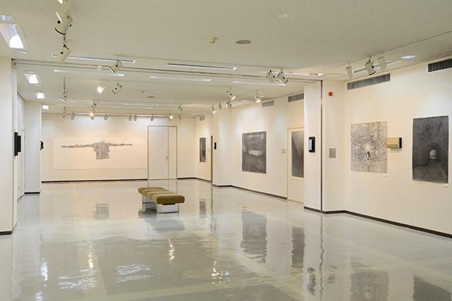 《矢野静明~種差 enclave 展》 2014年、八戸市美術館3F